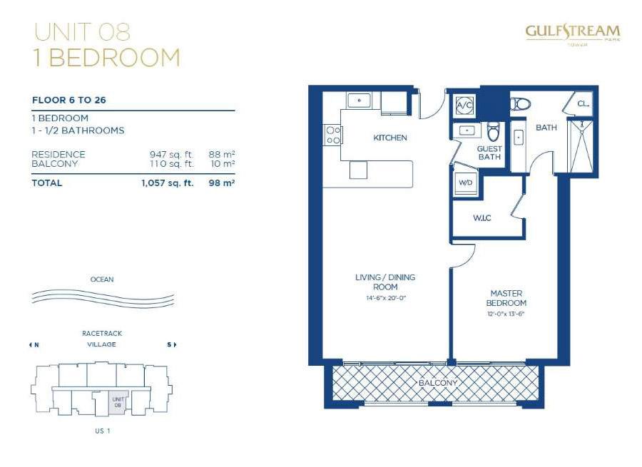 Gulfstream Park Tower Hallandale Beach New Condos For