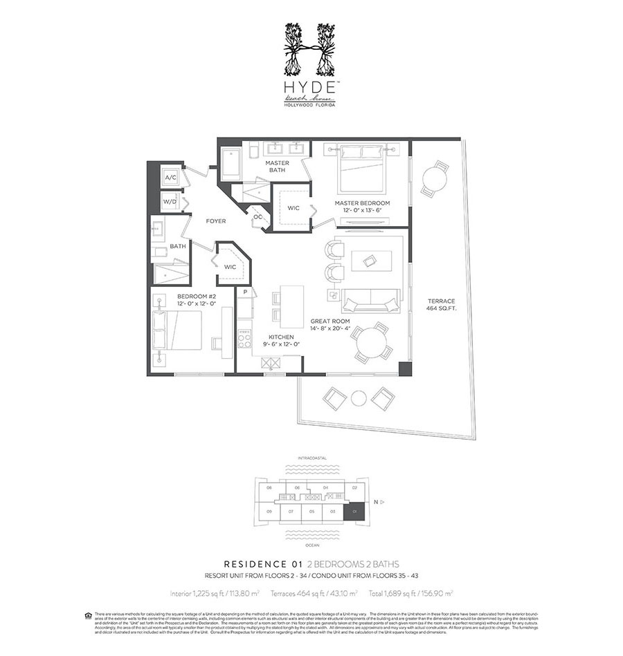 Hyde beach house hollywood new condos for sale bogatov for Hyde homes floor plans