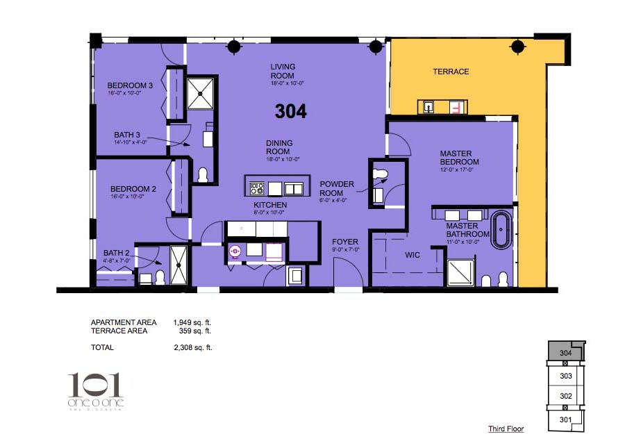 101 Key Biscayne - Floorplan 7