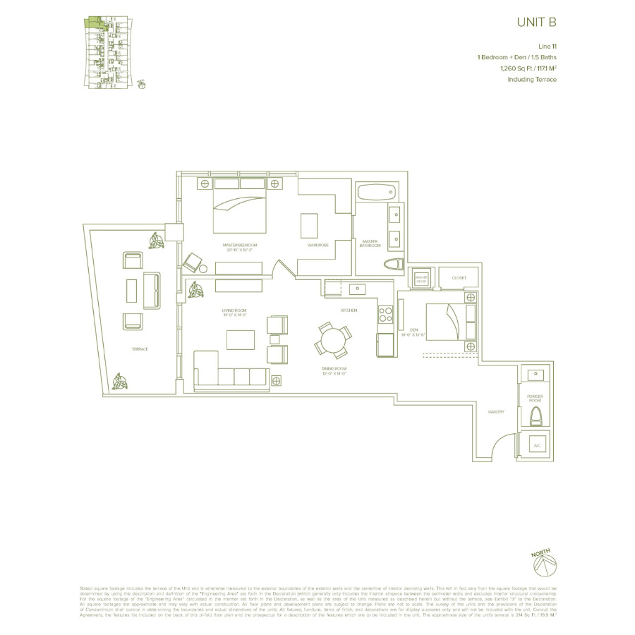 1010 Brickell - Floorplan 1