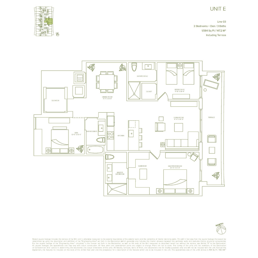 1010 Brickell - Floorplan 2