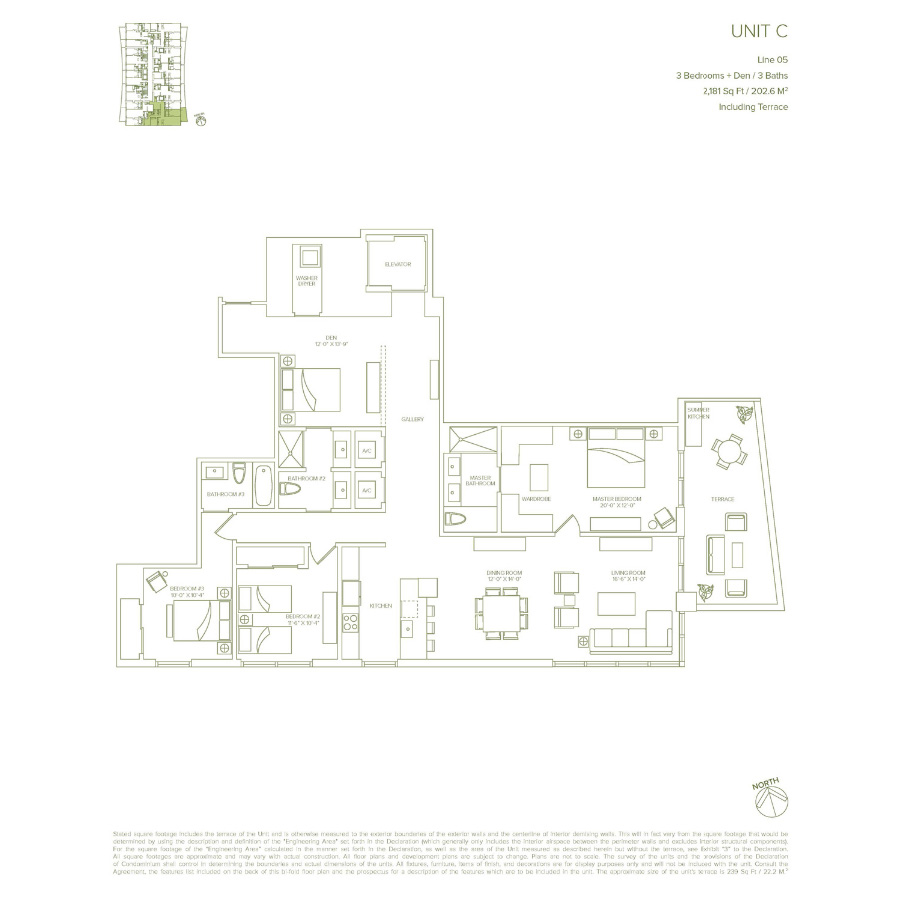 1010 Brickell - Floorplan 3
