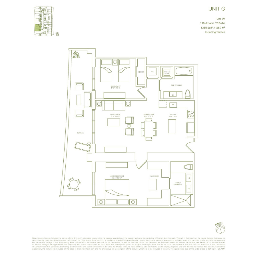 1010 Brickell - Floorplan 4