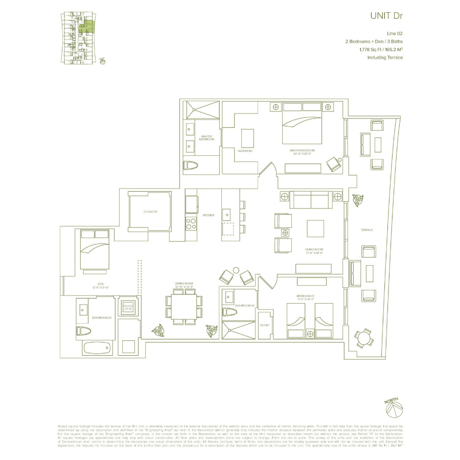 1010 Brickell - Floorplan 5