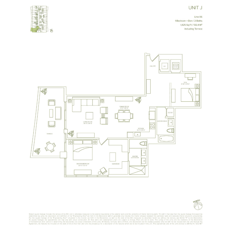 1010 Brickell - Floorplan 7