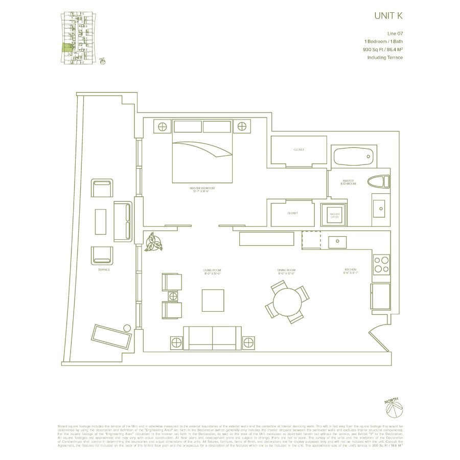 1010 Brickell - Floorplan 8