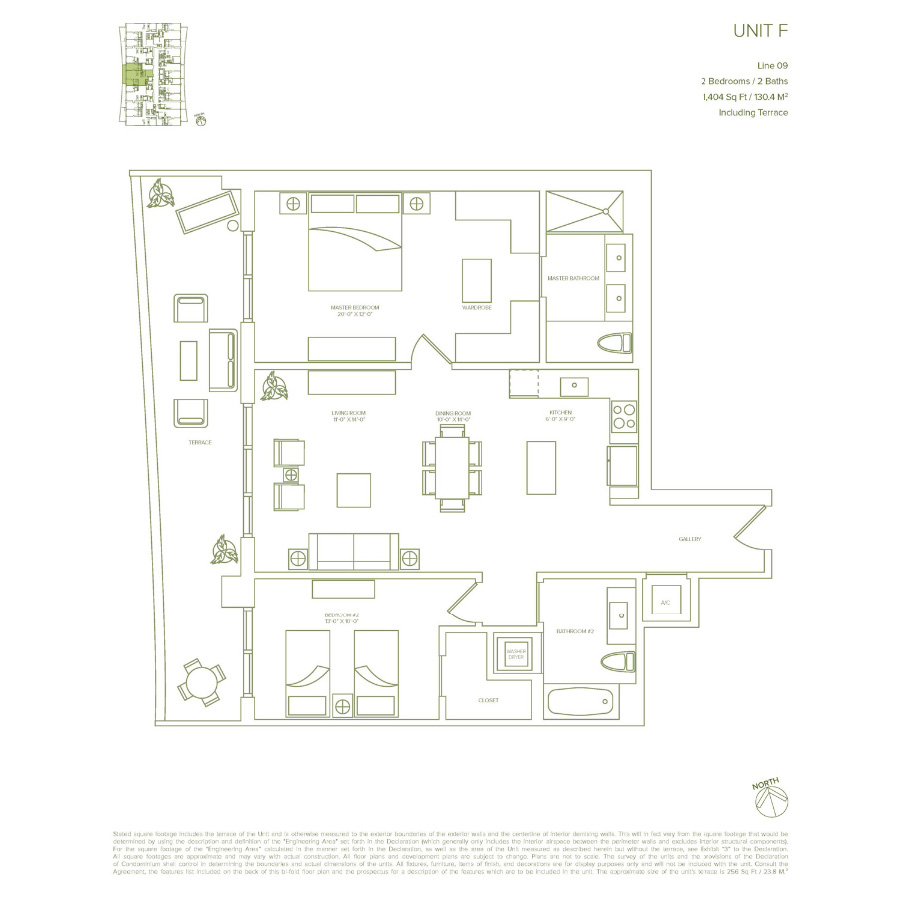 1010 Brickell - Floorplan 9