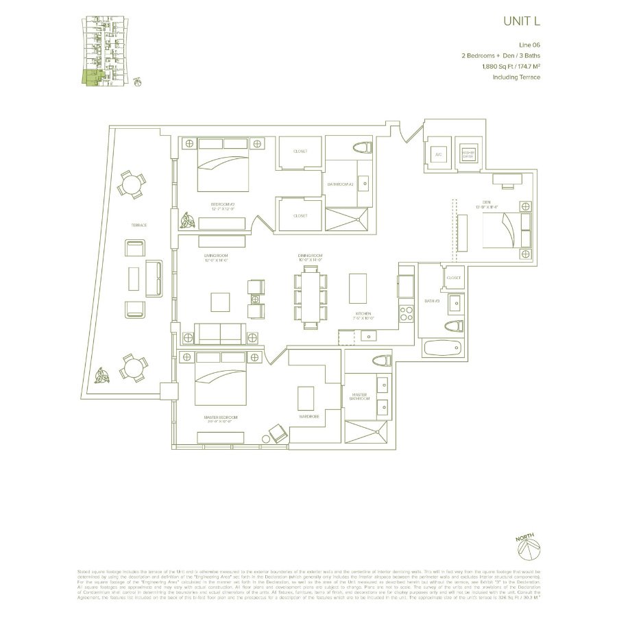 1010 Brickell - Floorplan 11