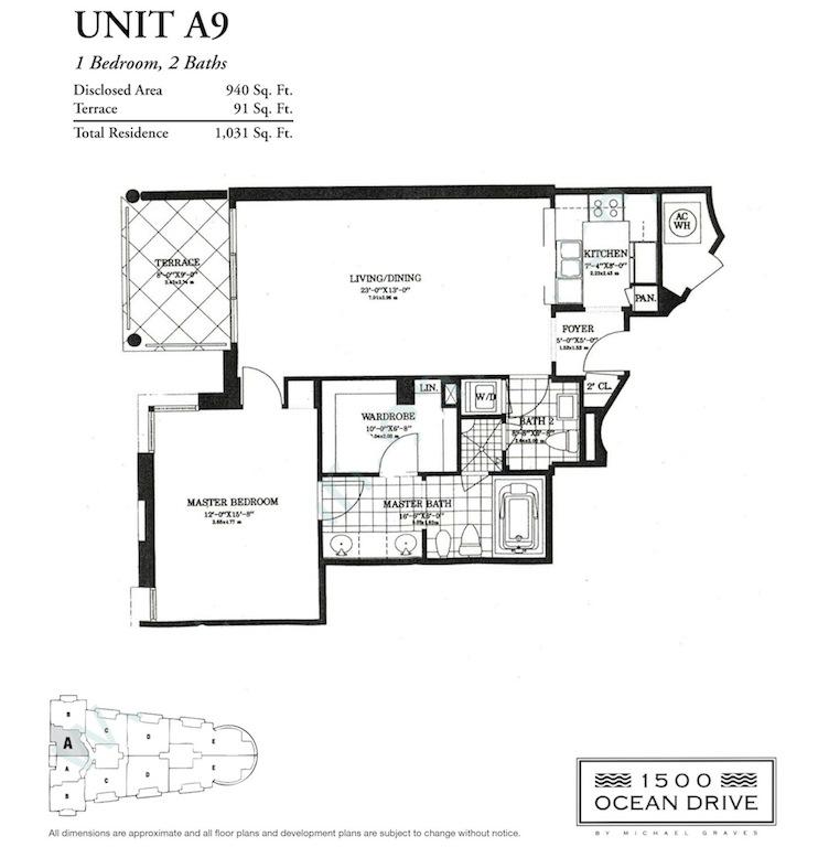 1500 Ocean Drive - Floorplan 2