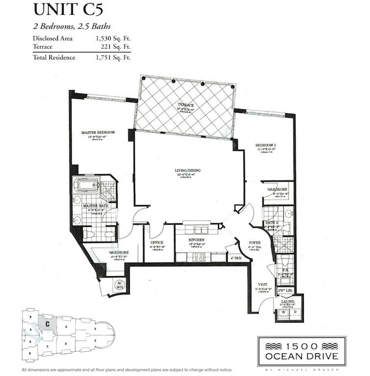 1500 Ocean Drive - Floorplan 4