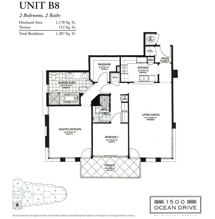1500 Ocean Drive - Floorplan 5
