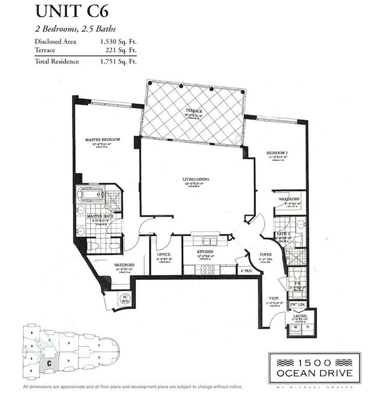 1500 Ocean Drive - Floorplan 7