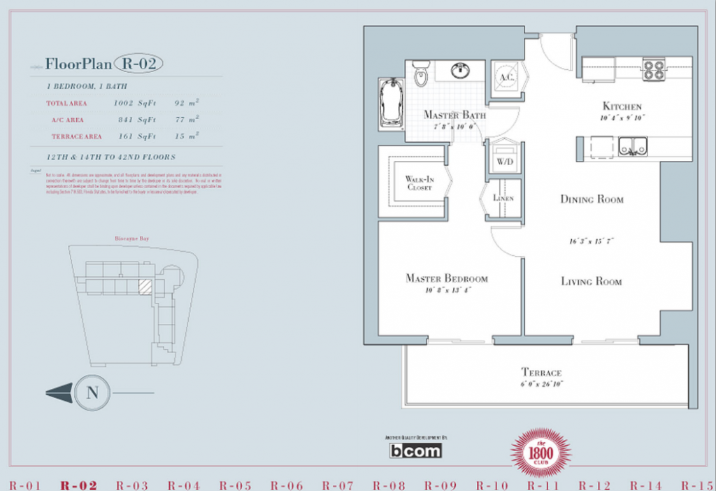 1800 Club - Floorplan 1