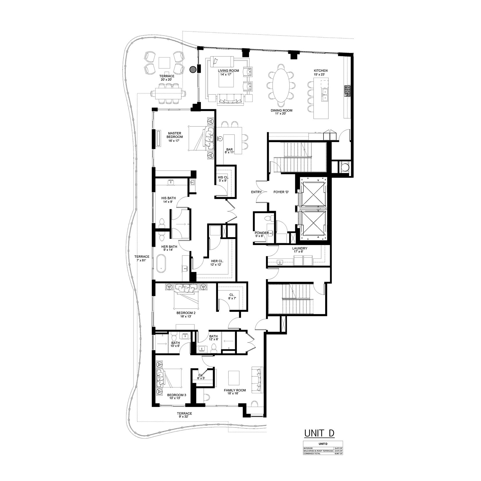 321 at Water's Edge - Floorplan 4