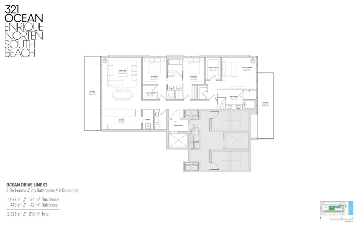 321 Ocean - Floorplan 2