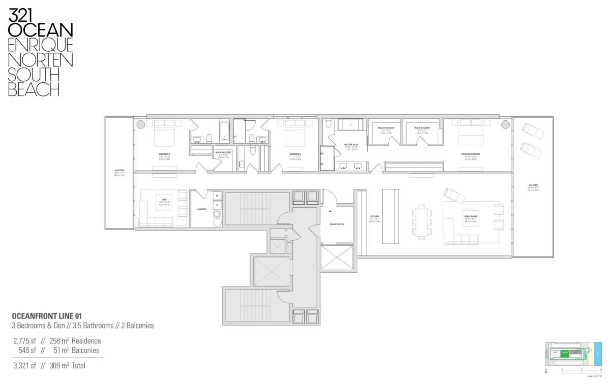 321 Ocean - Floorplan 3