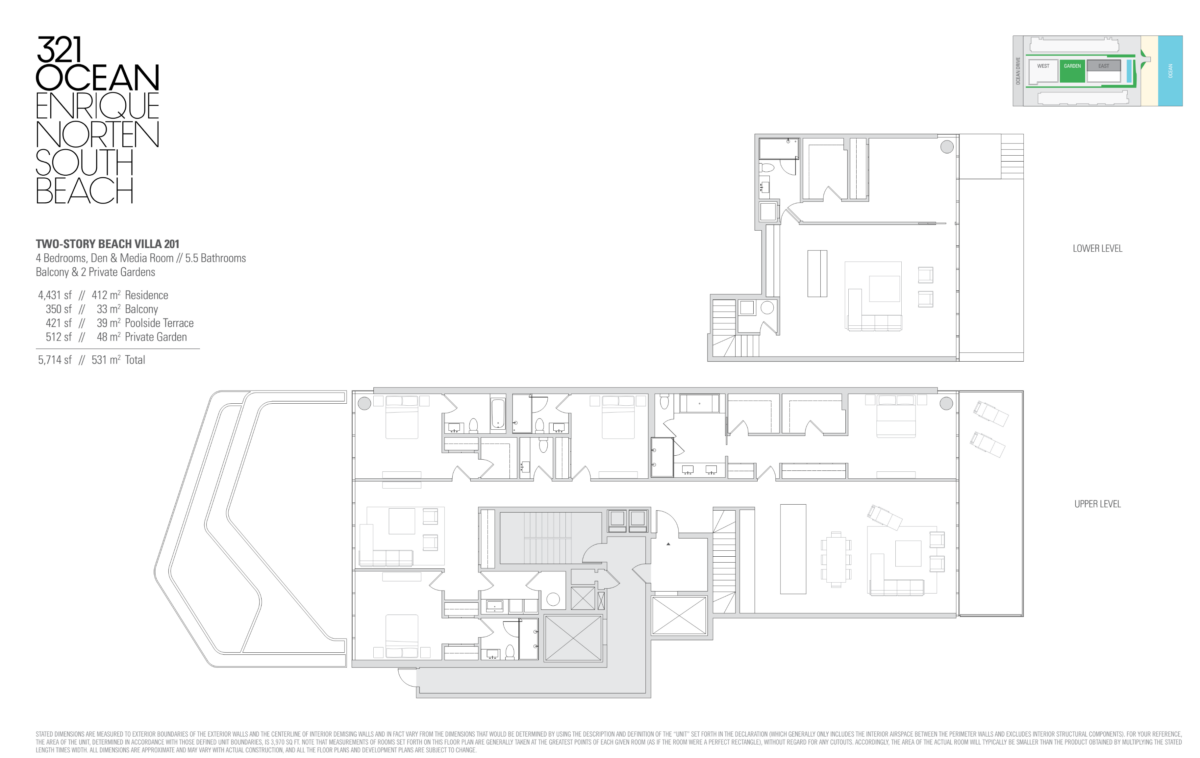 321 Ocean - Floorplan 4