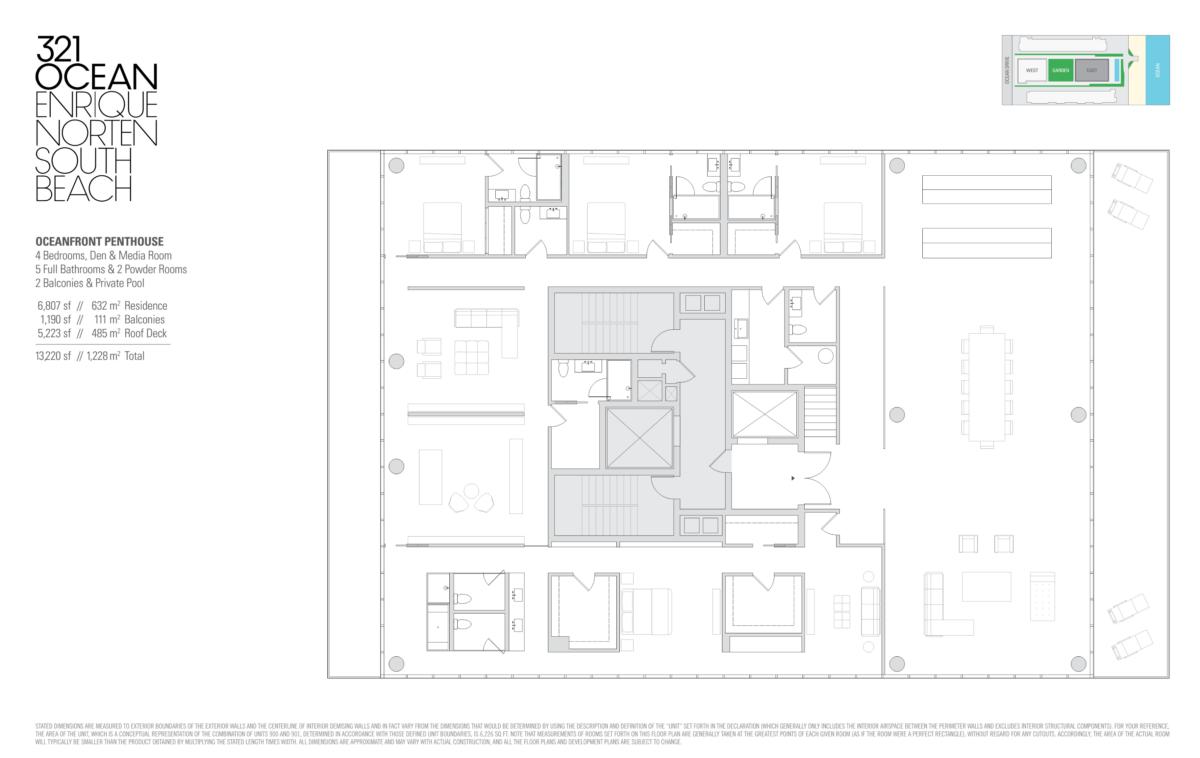 321 Ocean - Floorplan 6