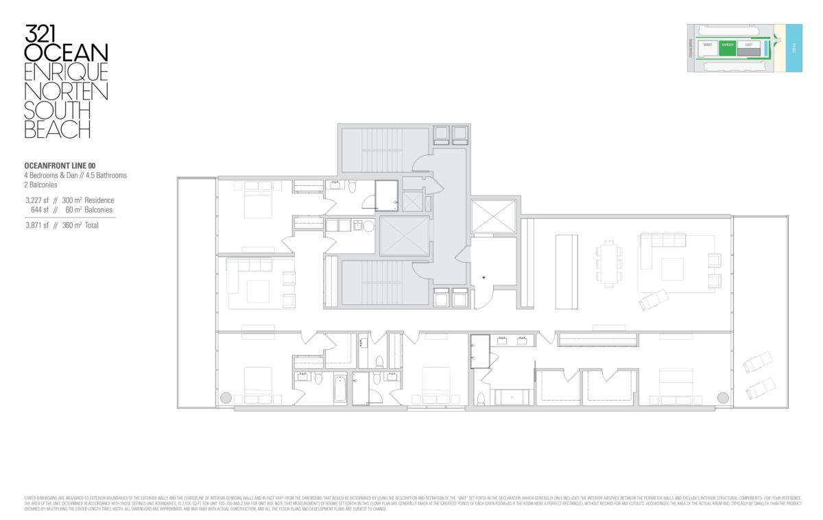 321 Ocean - Floorplan 7