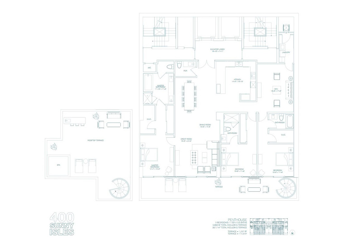 400 Sunny Isles - Floorplan 2