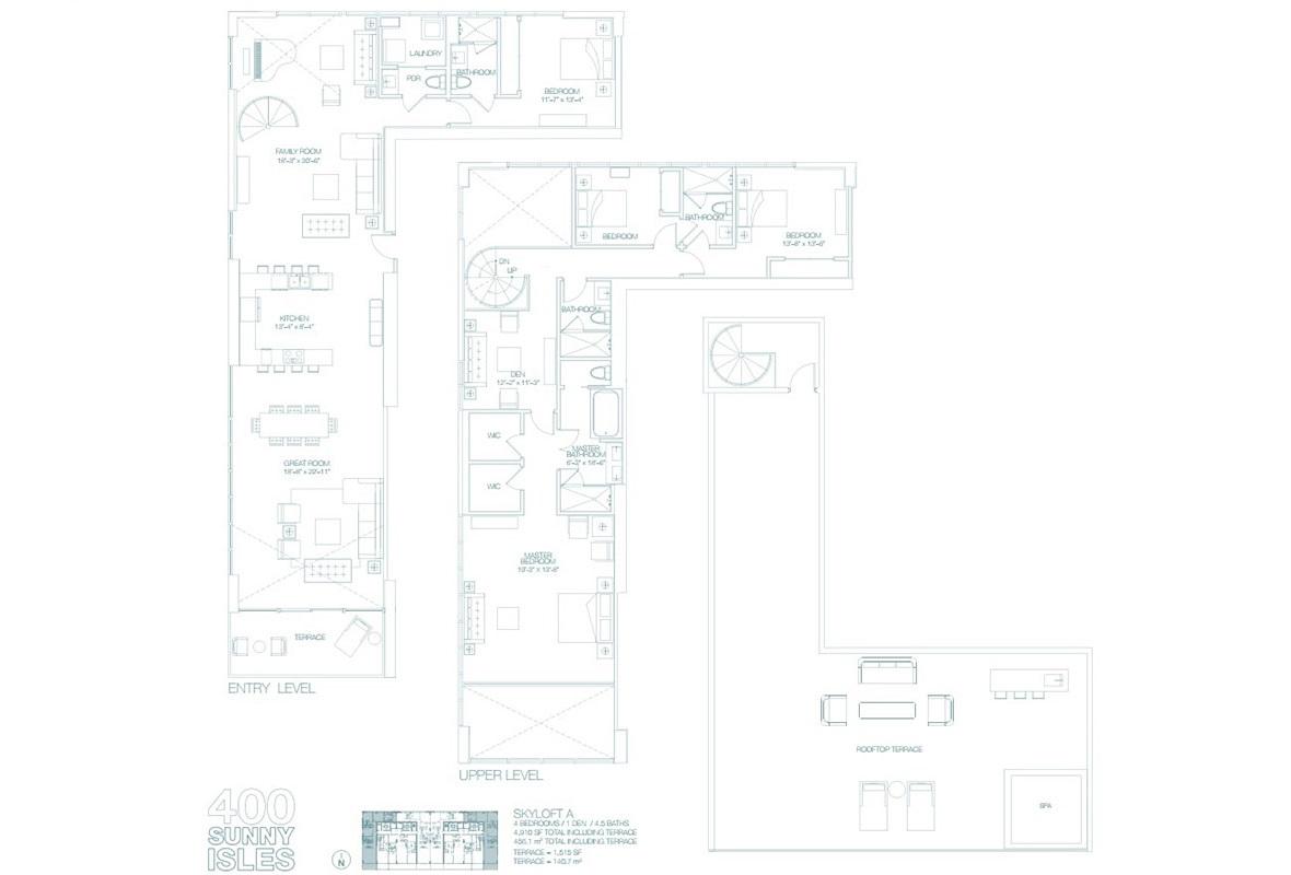 400 Sunny Isles - Floorplan 4
