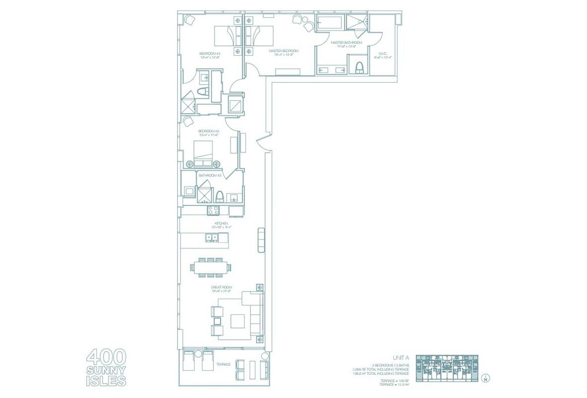 400 Sunny Isles - Floorplan 5