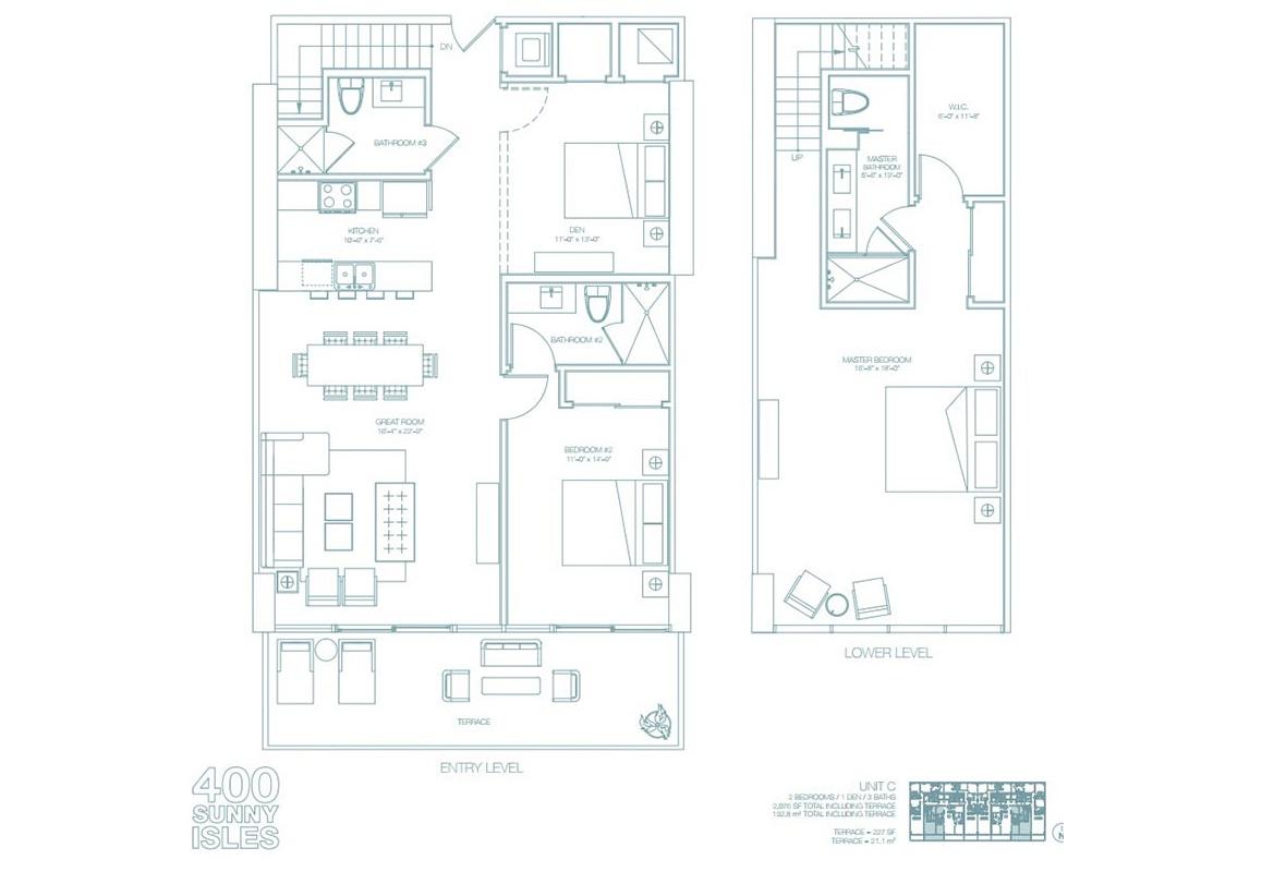 400 Sunny Isles - Floorplan 6