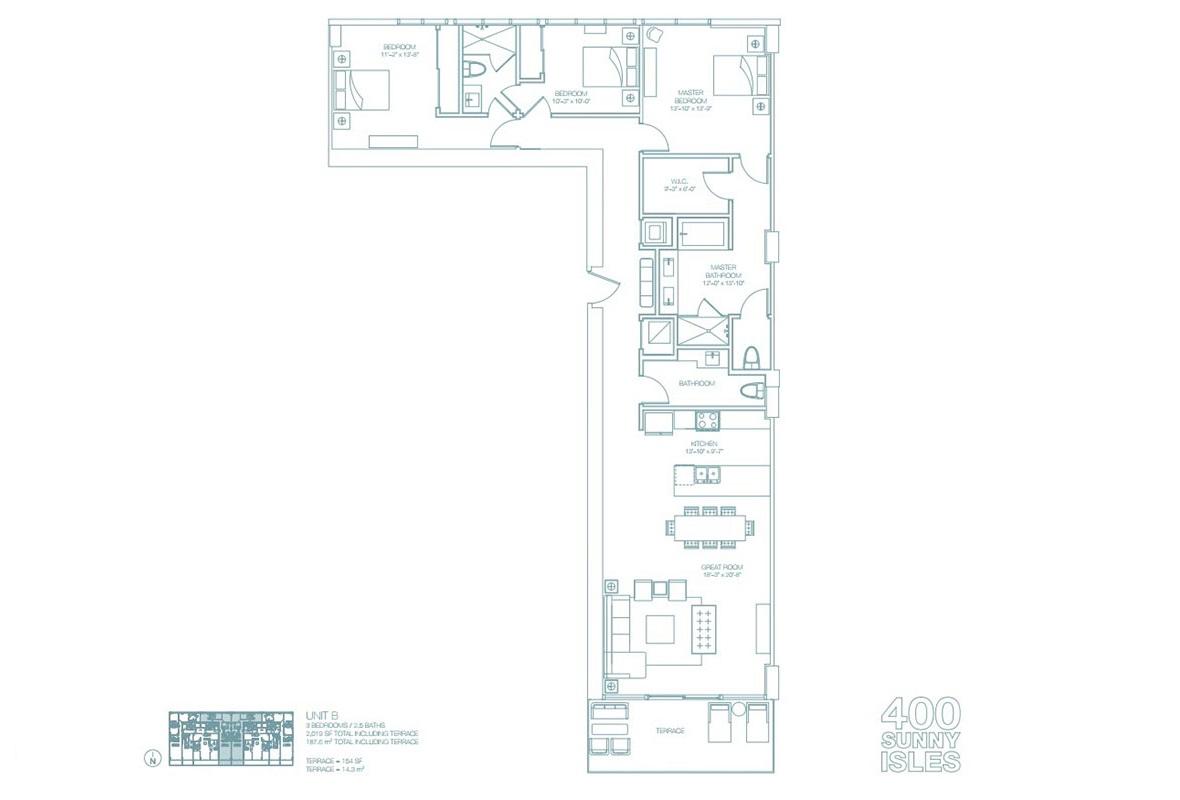 400 Sunny Isles - Floorplan 7