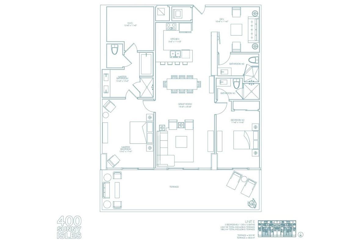 400 Sunny Isles - Floorplan 9