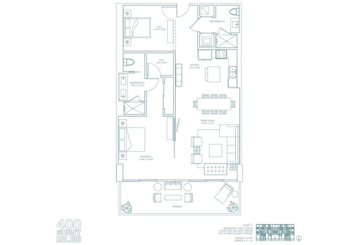 400 Sunny Isles - Floorplan 10