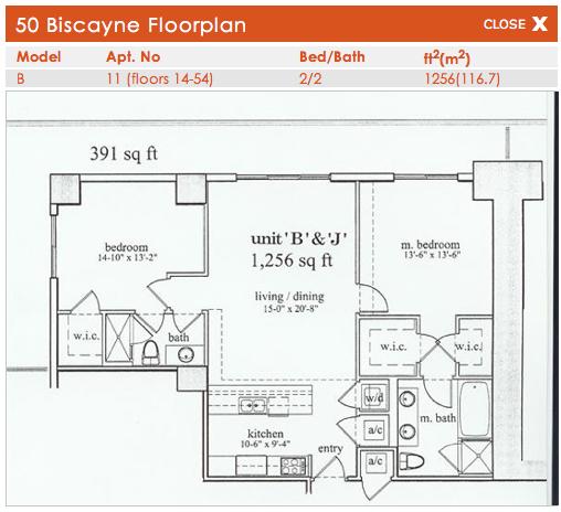 50 Biscayne - Floorplan 2