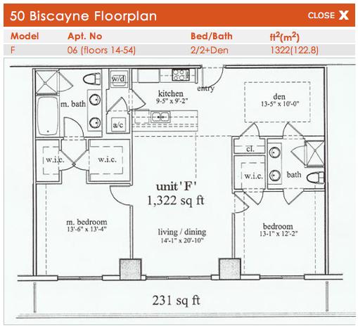 50 Biscayne - Floorplan 3