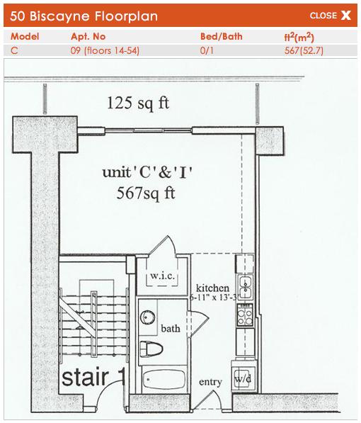 50 Biscayne - Floorplan 4