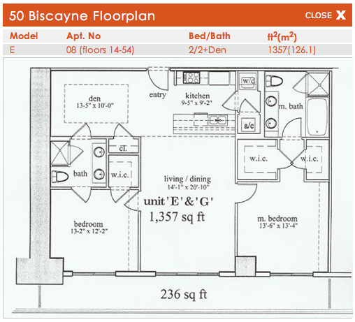 50 Biscayne - Floorplan 5