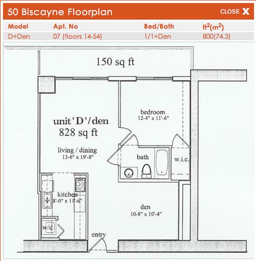 50 Biscayne - Floorplan 6