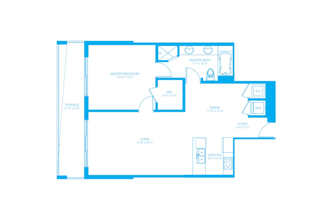 500 Brickell - Floorplan 1