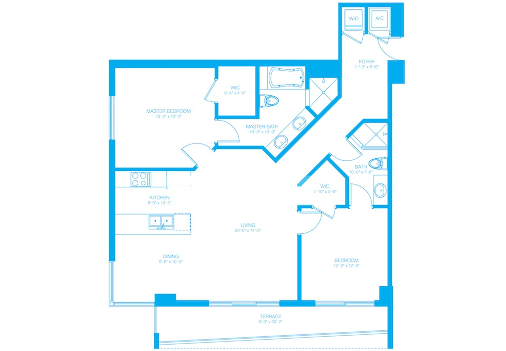 500 Brickell - Floorplan 2