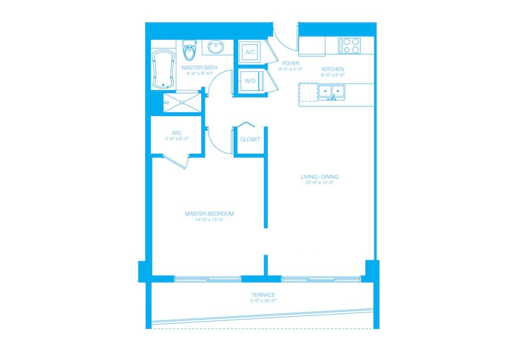 500 Brickell - Floorplan 3