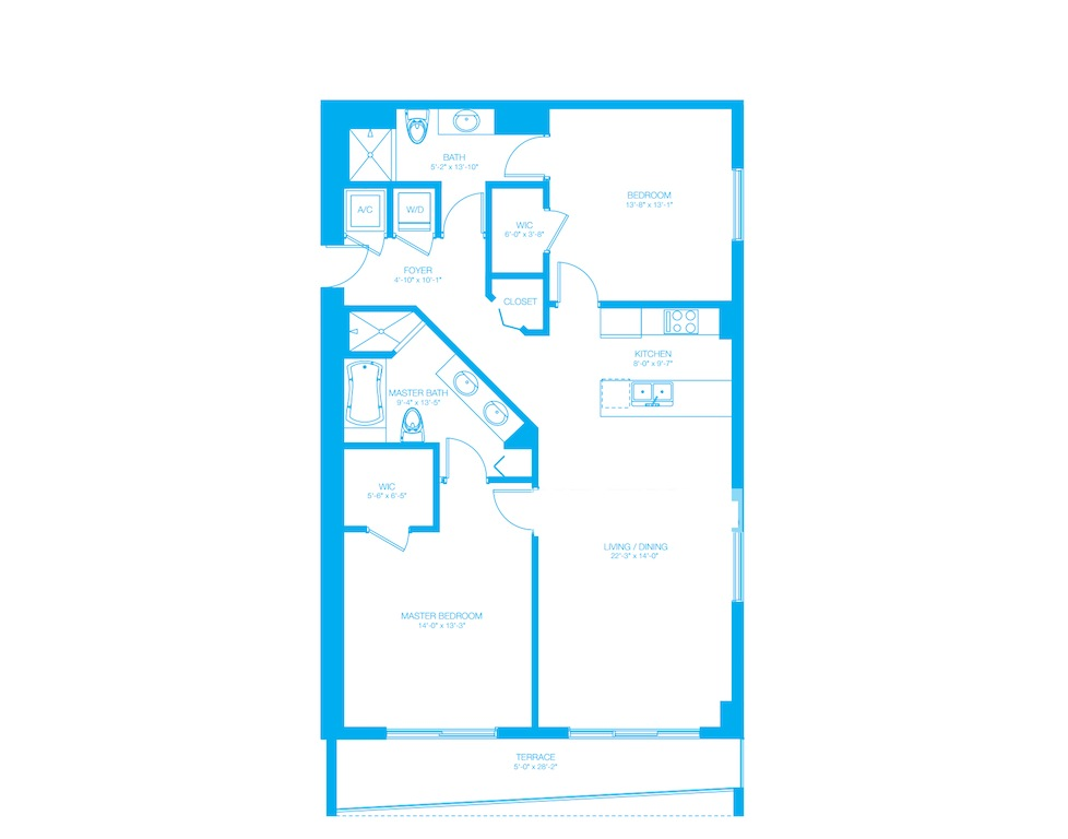 500 Brickell - Floorplan 4