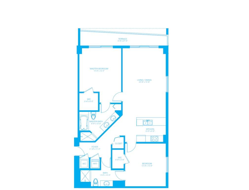 500 Brickell - Floorplan 5