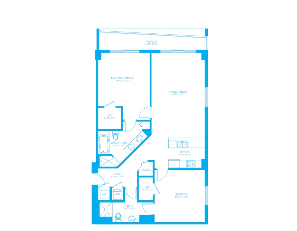 500 Brickell - Floorplan 6