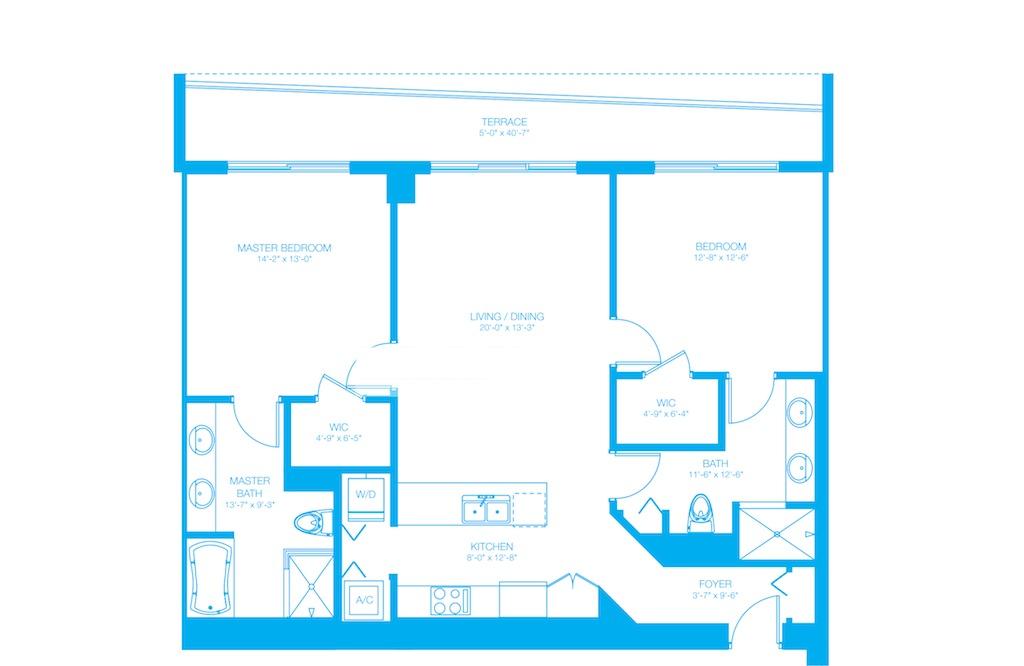 500 Brickell - Floorplan 7
