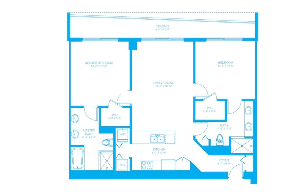 500 Brickell Floor Plans Plans100