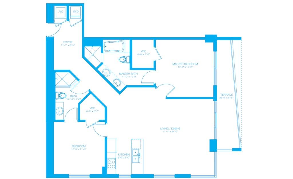 500 Brickell - Floorplan 9