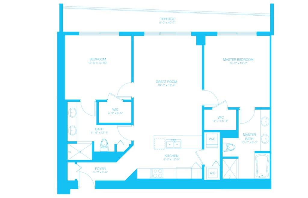 500 Brickell - Floorplan 11