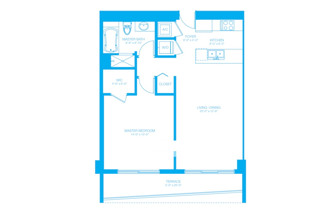 500 Brickell - Floorplan 12