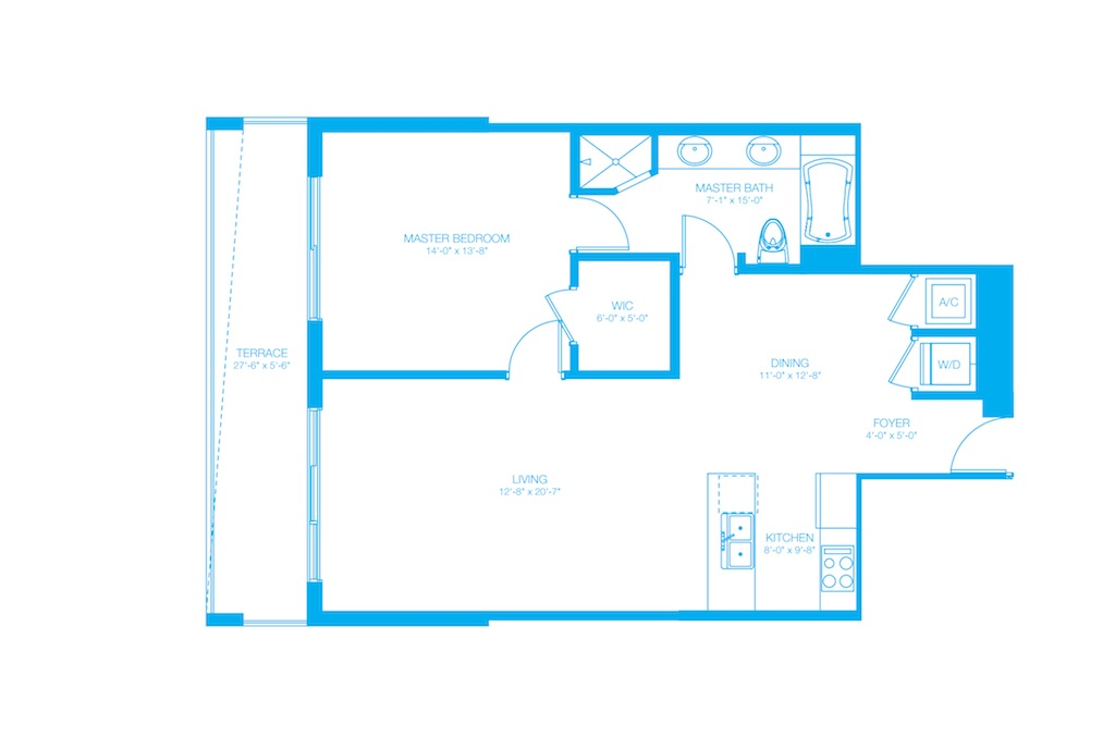 500 Brickell - Floorplan 13