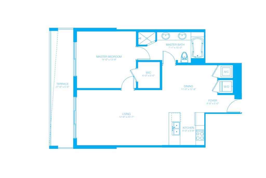 500 Brickell - Floorplan 13