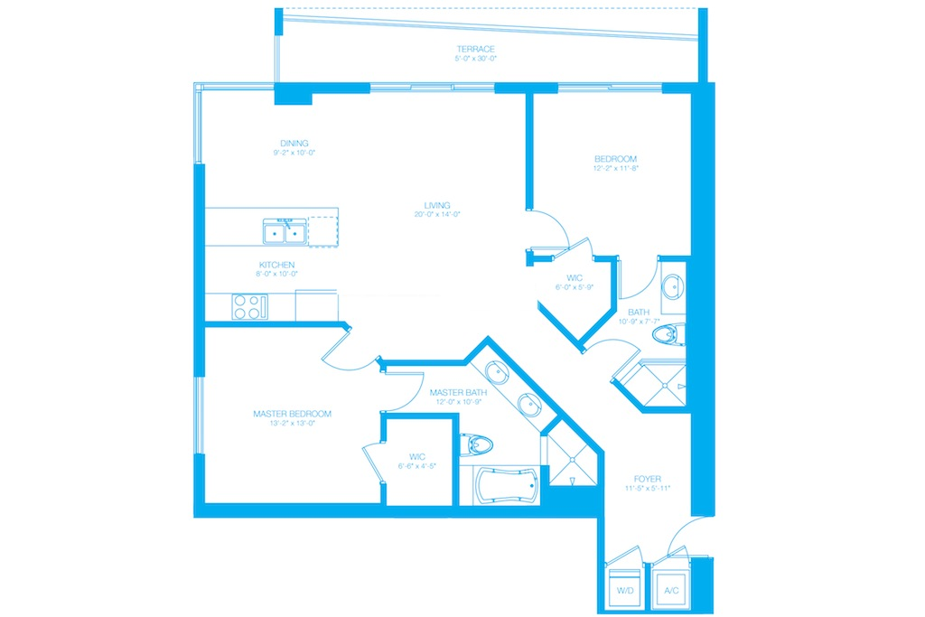 500 Brickell - Floorplan 14