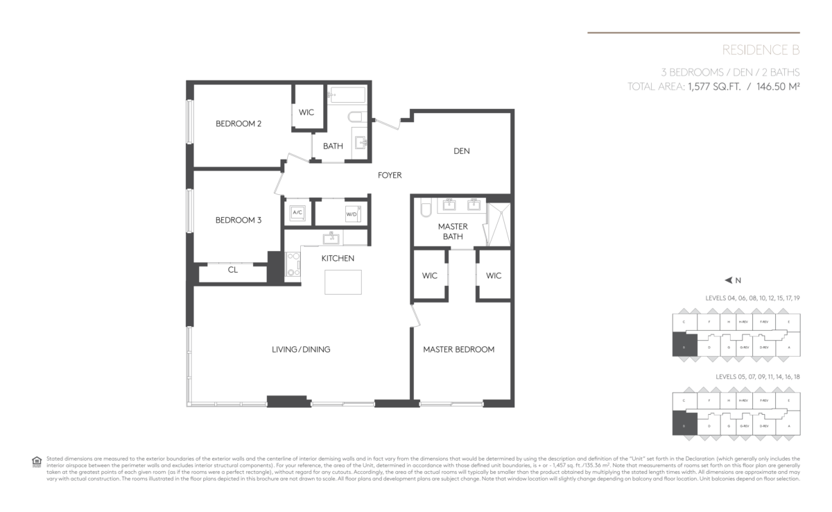 5252 Paseo - Floorplan 1